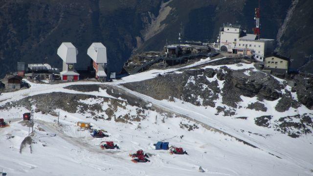 Zermatt narty latem Na lodowcu   (35)