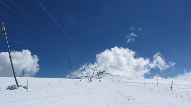 Zermatt narty latem Na lodowcu   (65)