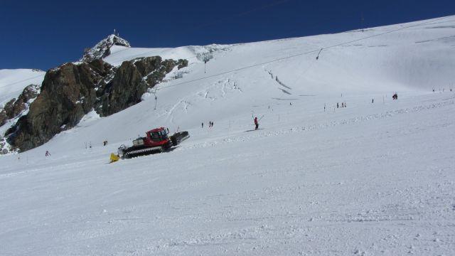 Zermatt narty latem Na lodowcu   (50)