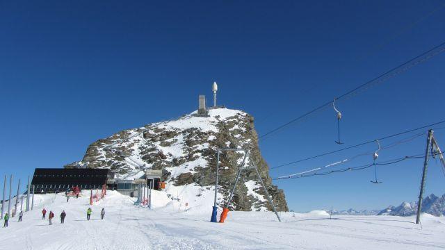Zermatt narty latem Na lodowcu   (7)