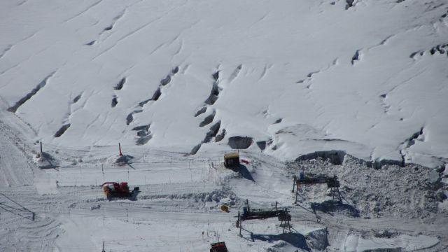 Zermatt narty latem Na lodowcu   (85)